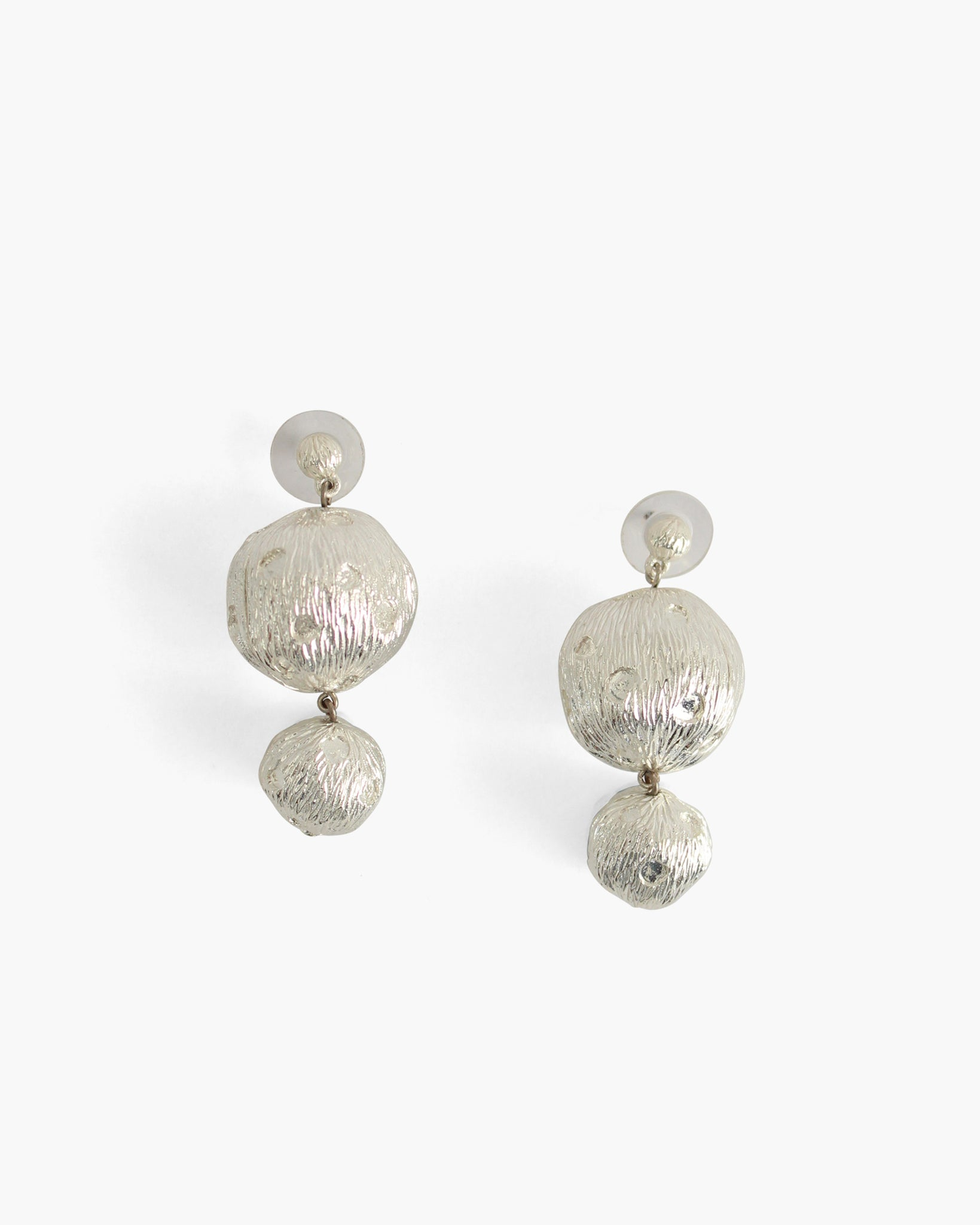 Cameron Earrings Boule Silver
