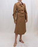 Paula Dress Viscose Linen Blend Dress Brown