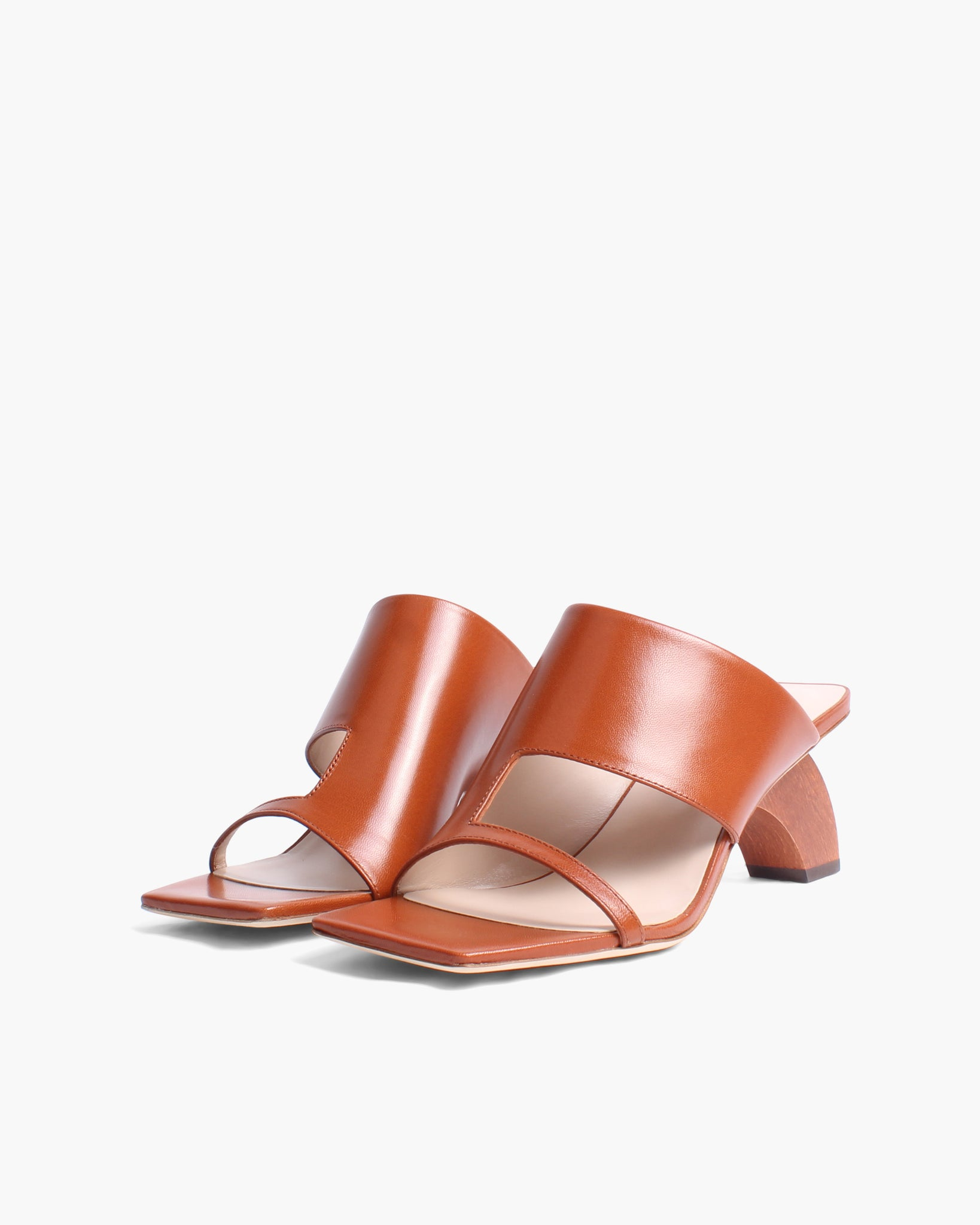 Leah Sandals Leather Brown - SPECIAL PRICE