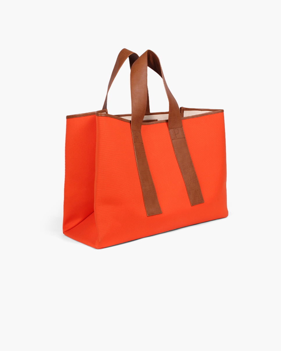 Carter Tote Canvas Orange