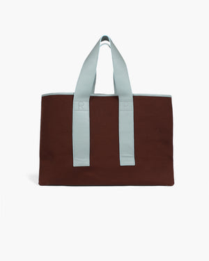 Carter Tote Canvas Dark Brown