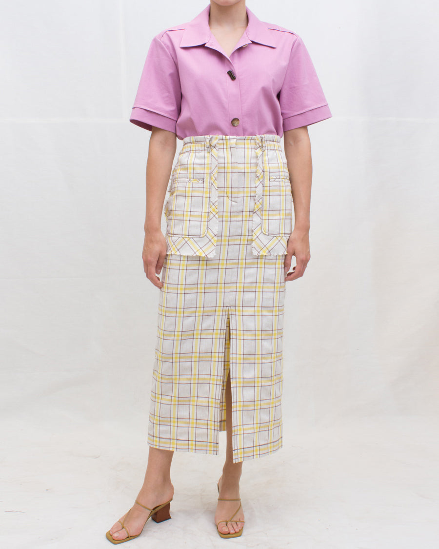 Nico Shirt Cotton Lilac - SPECIAL PRICE