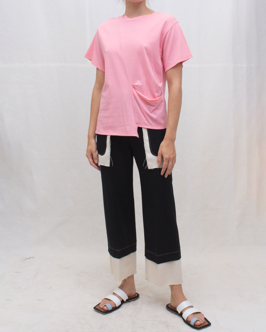 Sabrina T-shirt Cotton Jersey Pink - SPECIAL PRICE