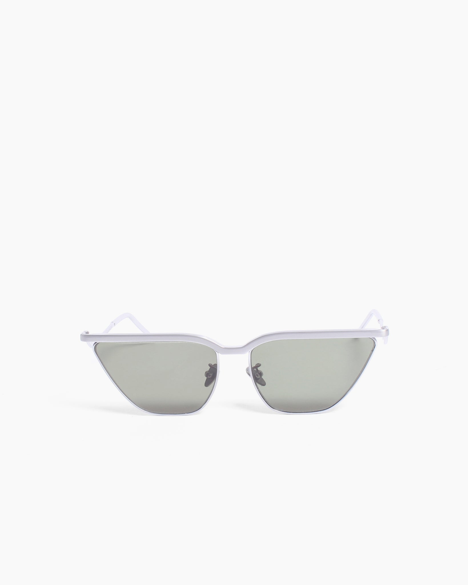 Kira Sunglasses White Gold