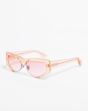 Tate Sunglasses Clear Yellow