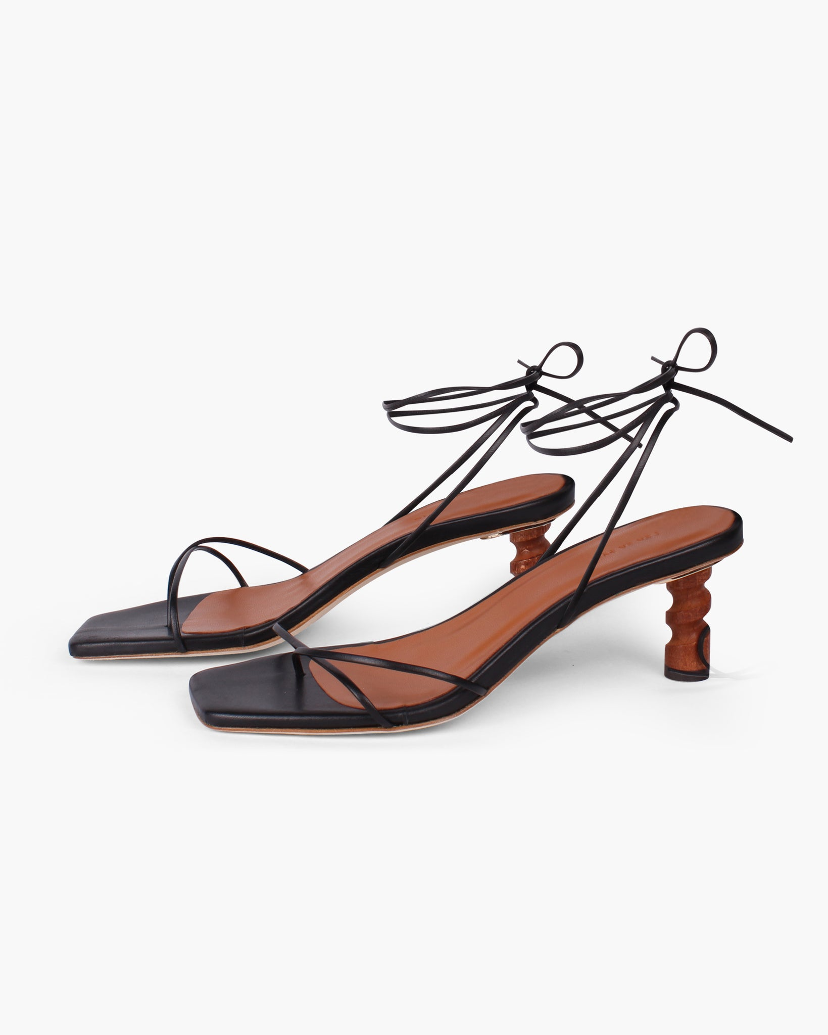 Doris Sandals Leather Black - SPECIAL PRICE