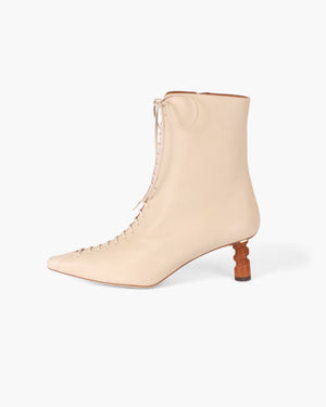Simone Boot Leather Cream