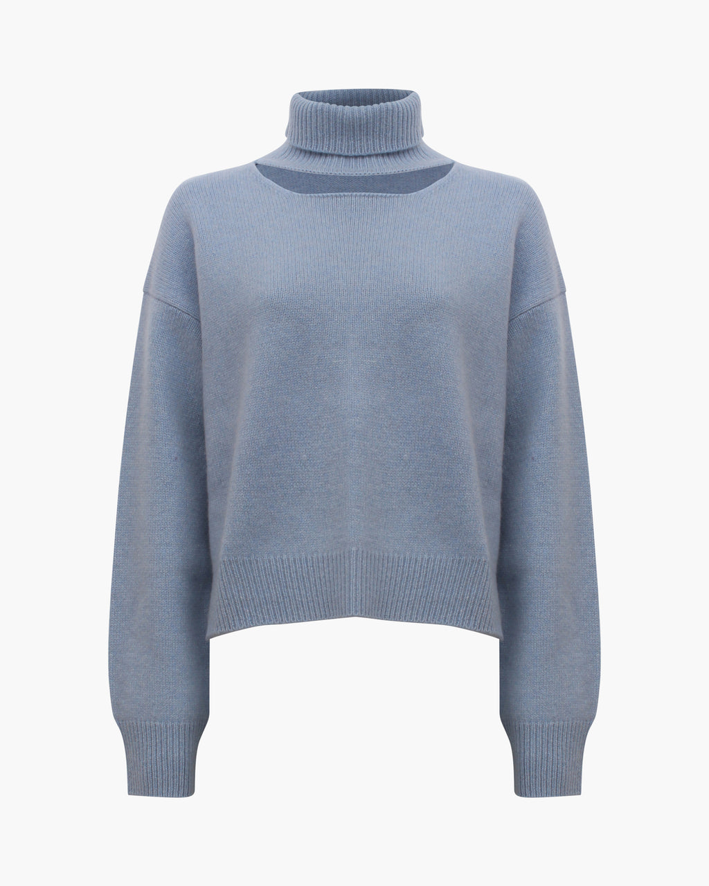 Peyton Sweater Regenerated Cashmere Blue