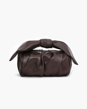 Nane Bag Leather Dark Brown