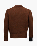 Ellis Sweater Wool Cashmere Blend Brown - UNISEX
