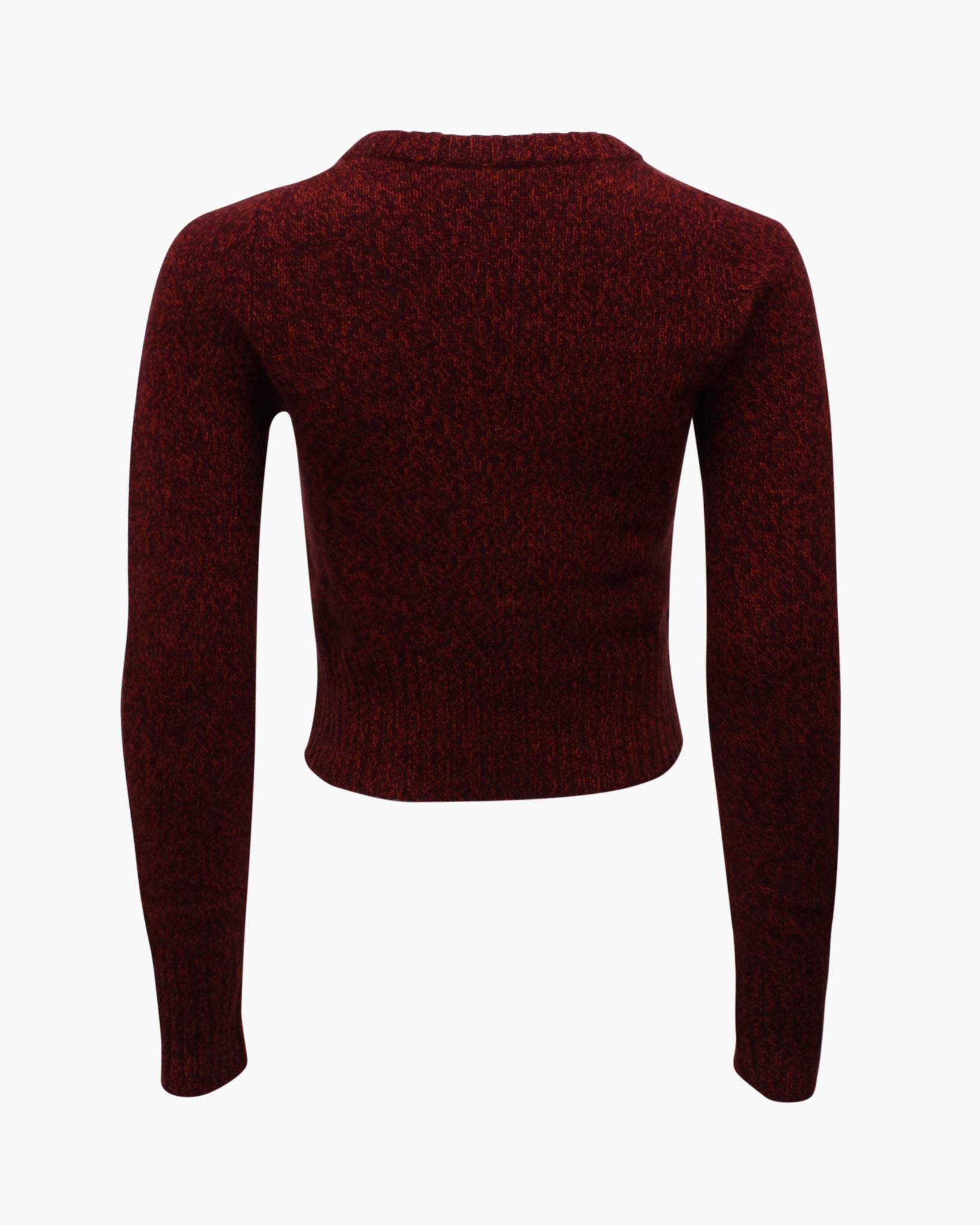 Cody Sweater Regenerated Cashmere Burgundy Melange
