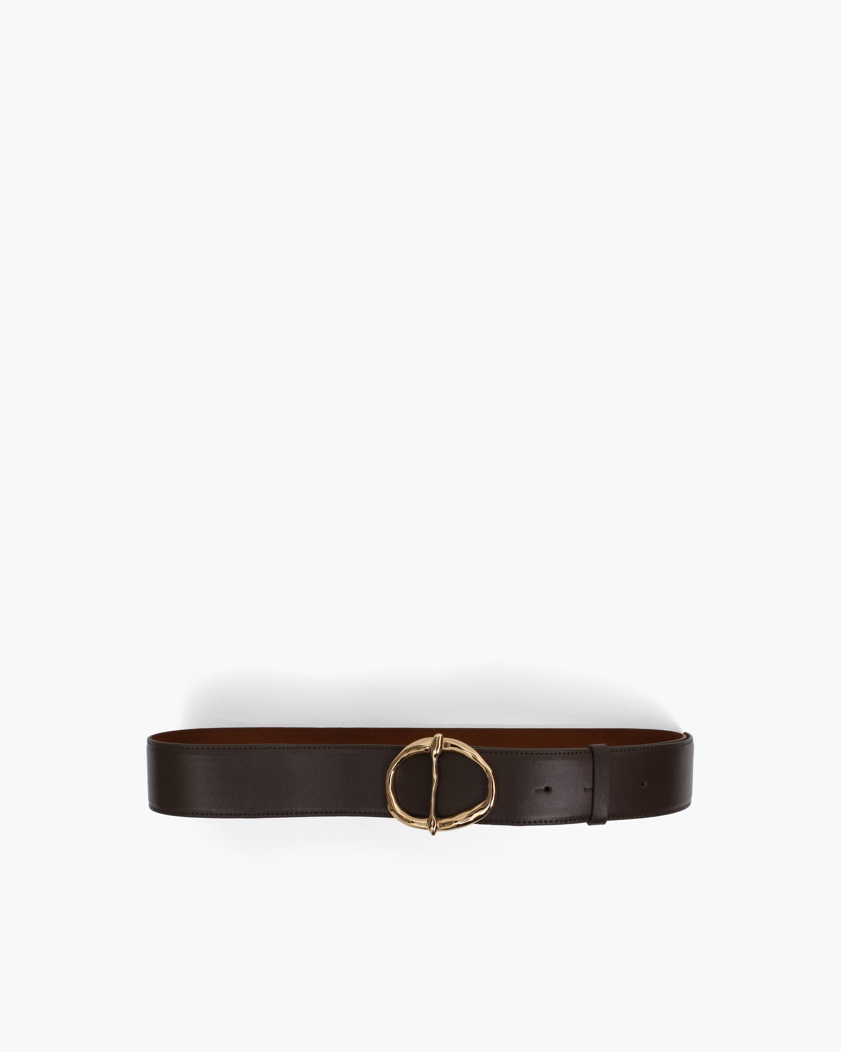 Carly Belt Leather Charcoal