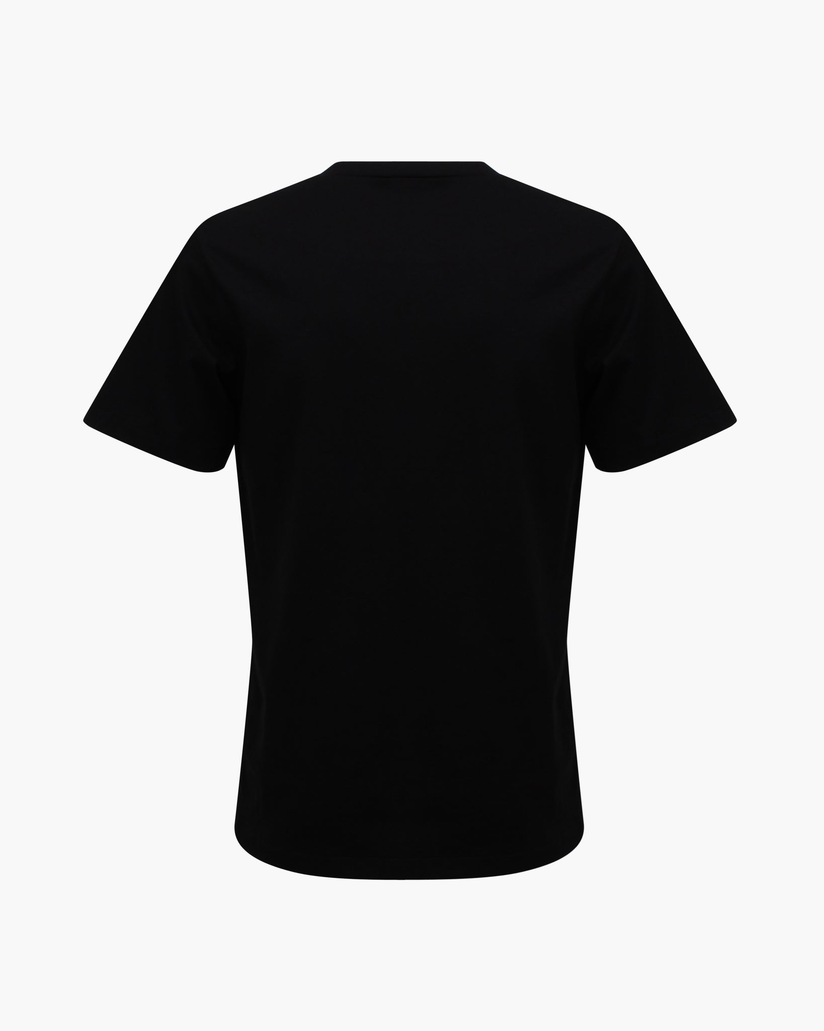 Rhys T-shirt Cotton Jersey Black Embroidery