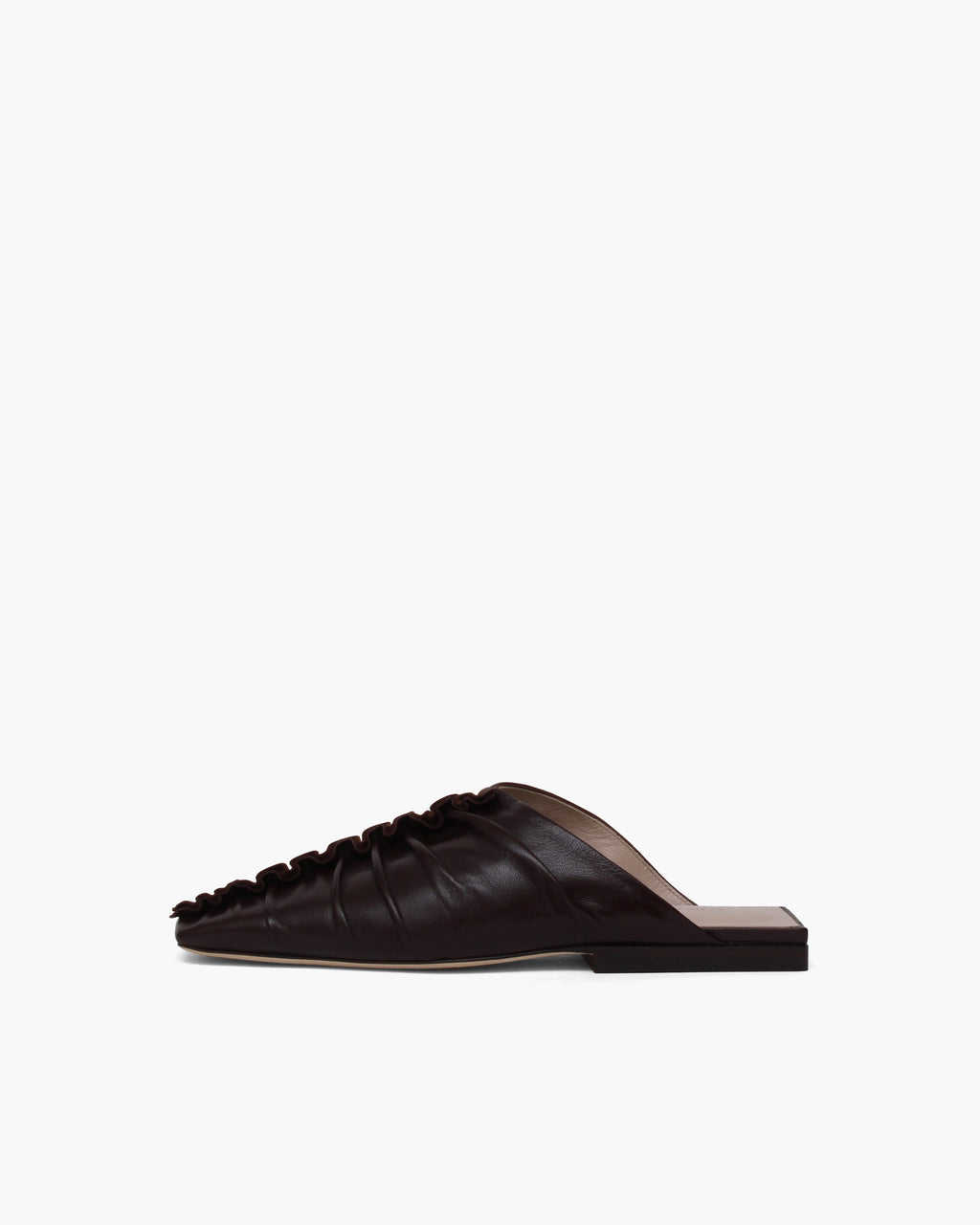 George Mules Leather Brown Two-tone