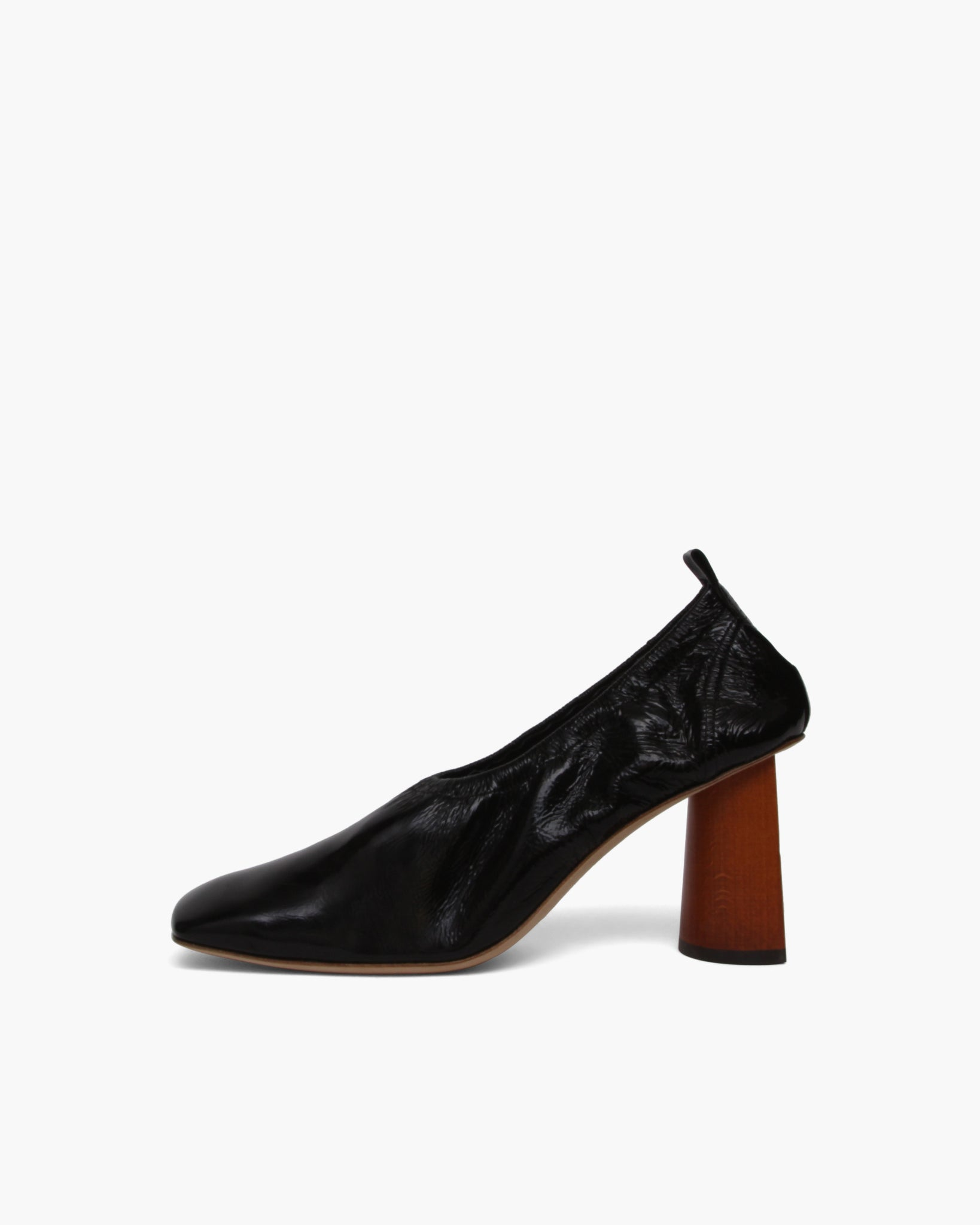 Edie Pump Leather Black