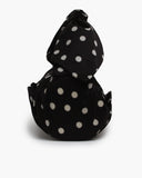Nane Bag Satin Black + White Polka