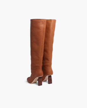 Allegra Boots Leather Brown - SPECIAL PRICE