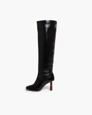 Allegra Boots Leather Black