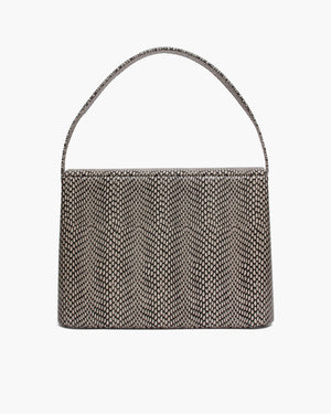 Felix Bag Leather Polka Snake Black/White