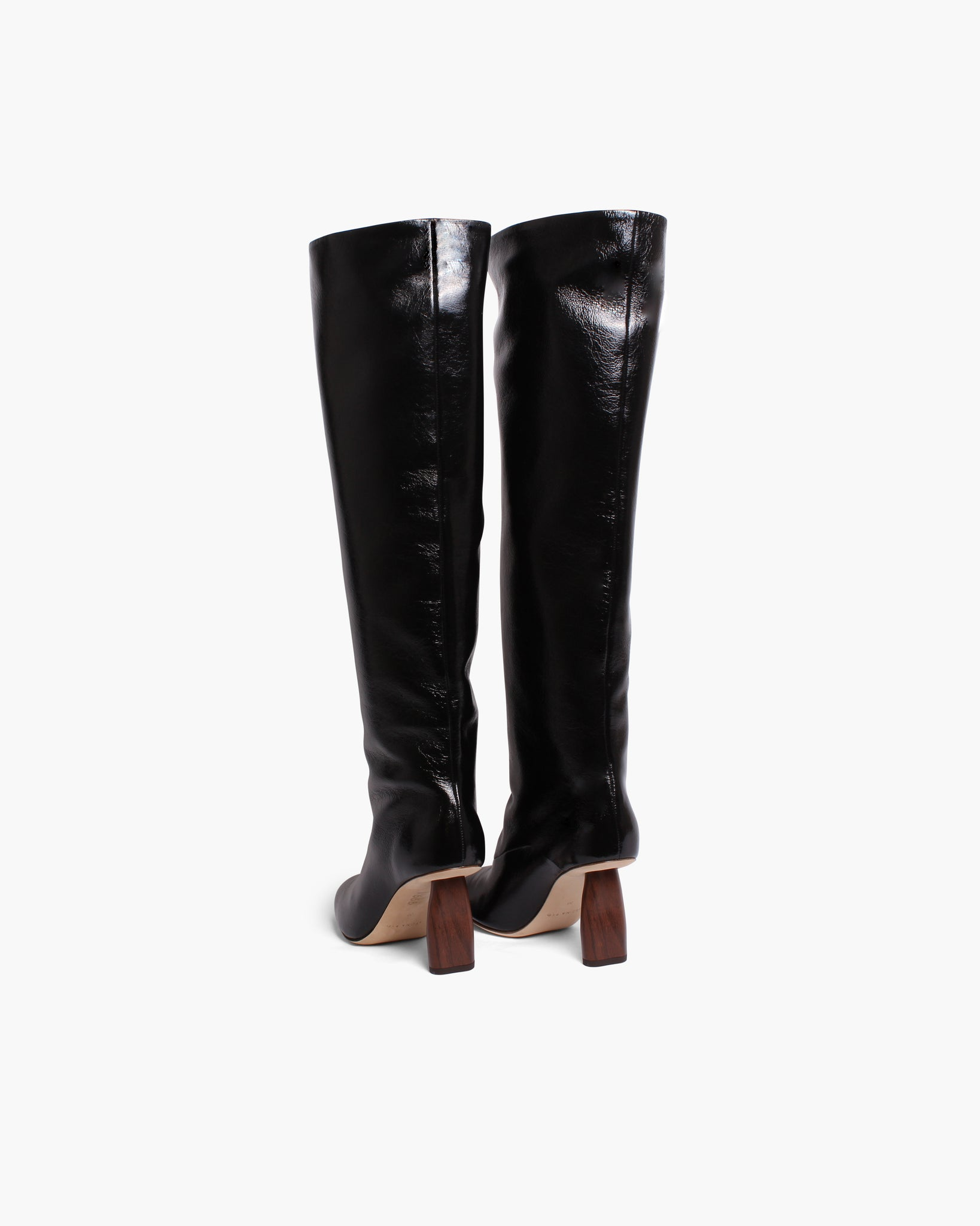 Allegra Boots Leather Black - SPECIAL PRICE