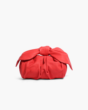 Nane Bag Leather Rosso