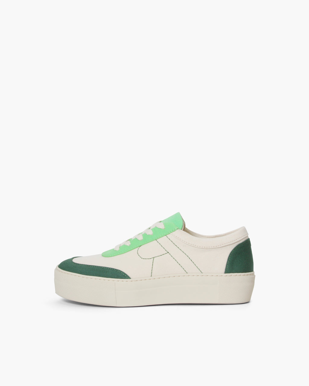 Bailey Sneakers Cotton Canvas Green - UNISEX