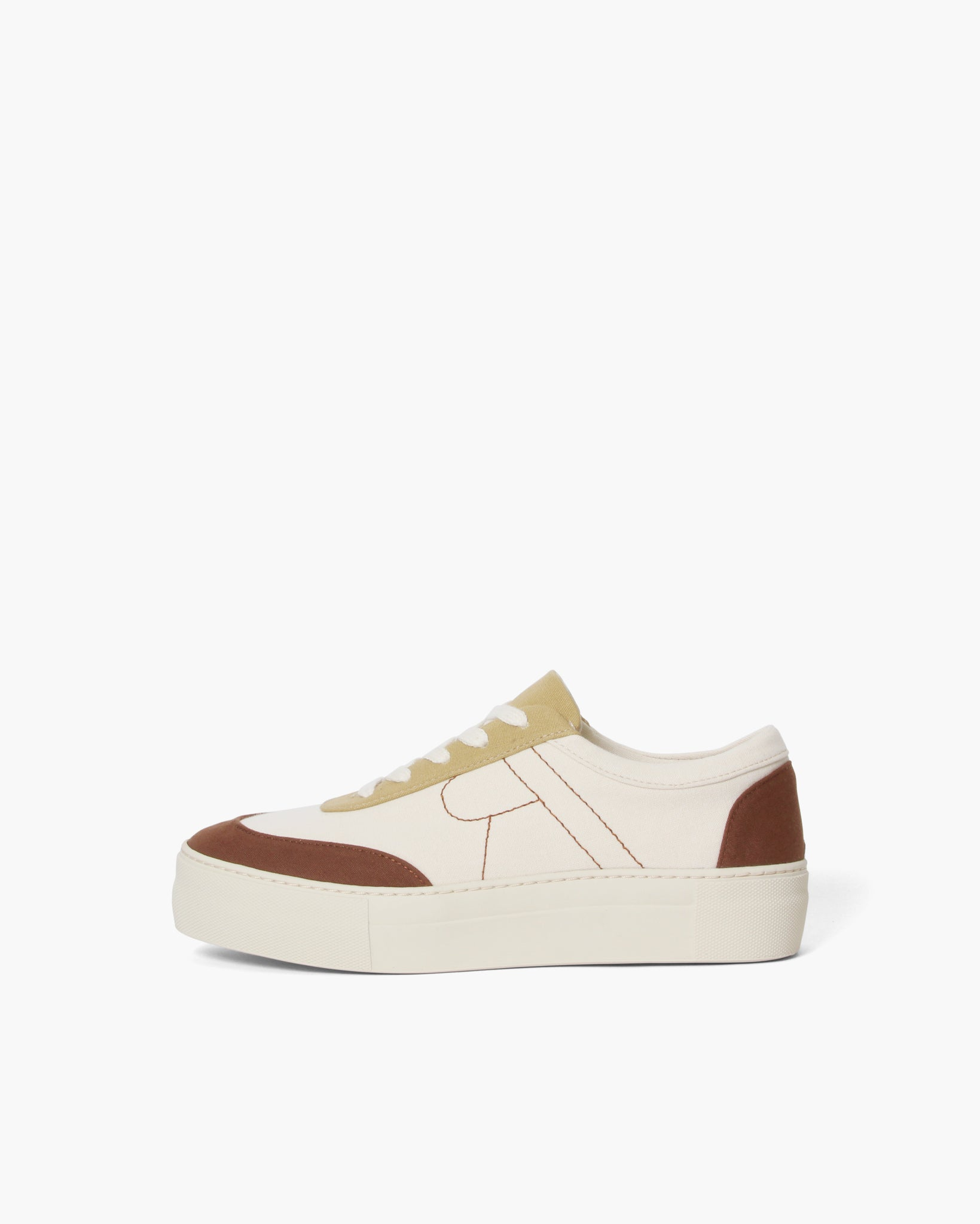 Bailey Sneakers Cotton Canvas Coffee