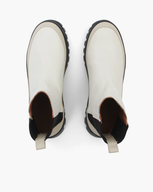 Mira Boots Leather Patent Cream