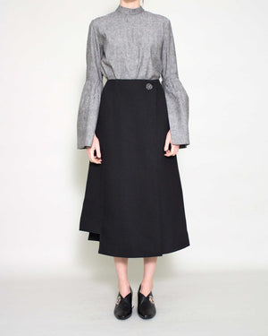 Marianna Skirt Double Twill Black