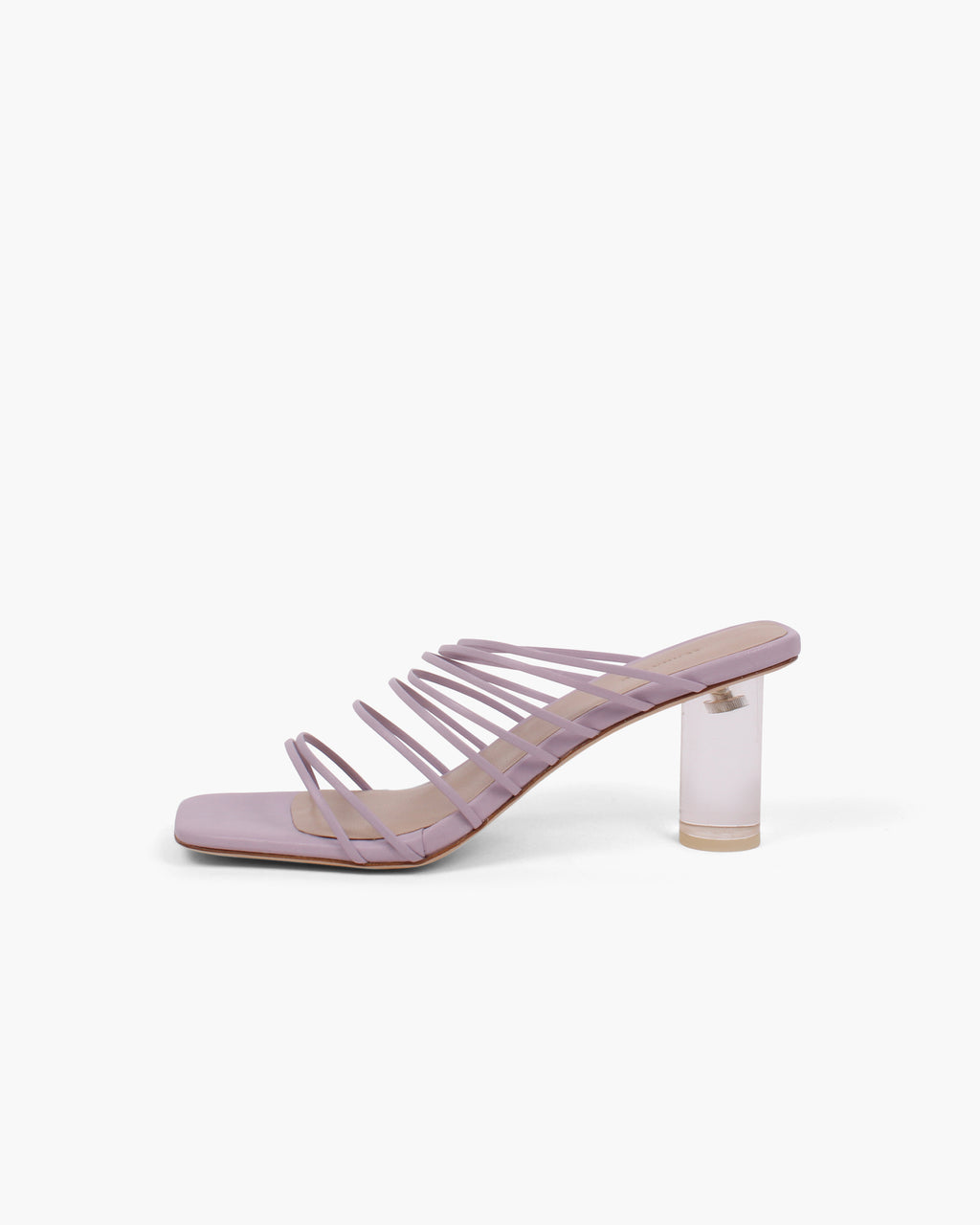 Zoe Sandals Leather Lilac