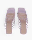 Zoe Sandals Leather Lilac - SPECIAL PRICE