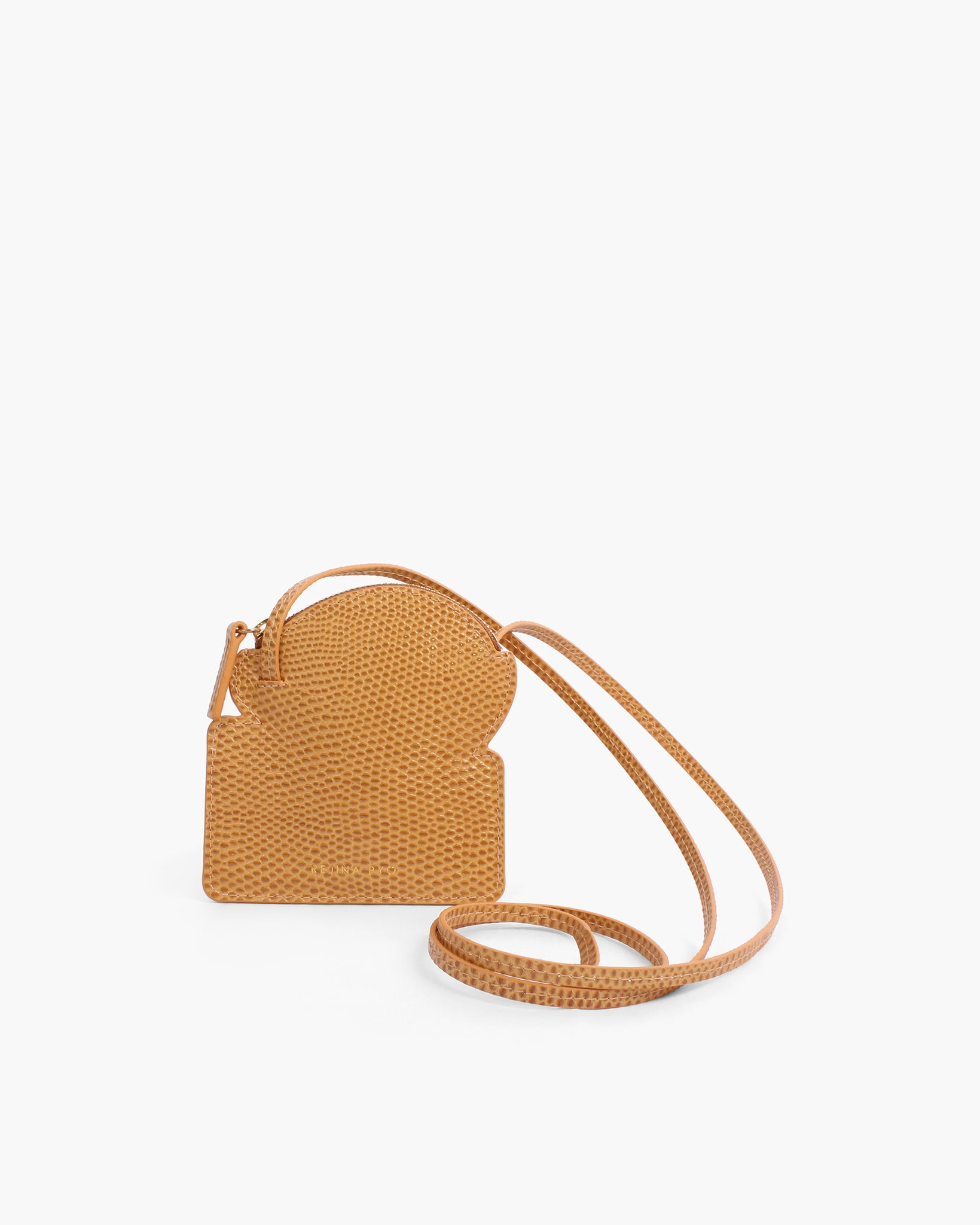 Toastie Pouch Leather Emboss Tan
