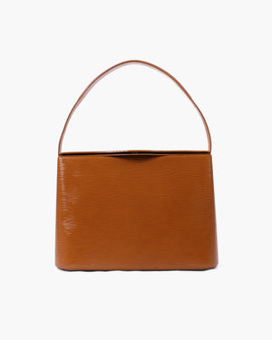 Felix Bag Patent Leather Emboss Almond