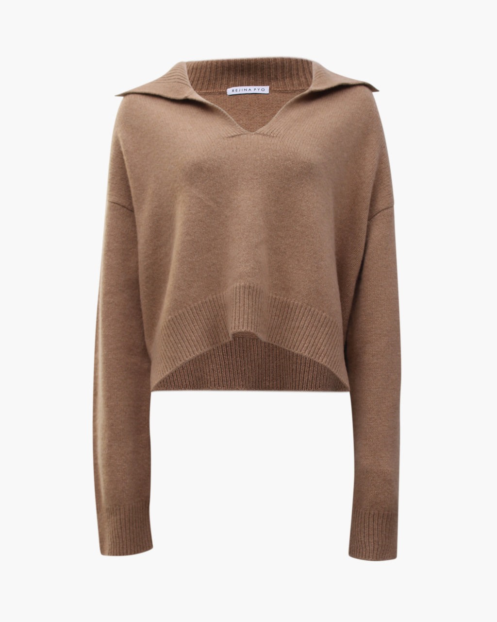 Tate Sweater Regenerated Cashmere Beige