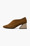 YUUL YIE Dark Mocha Upper with Oat Heel