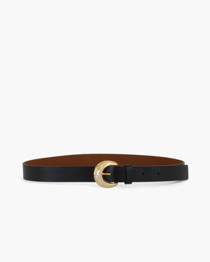 Moon Belt Leather Black