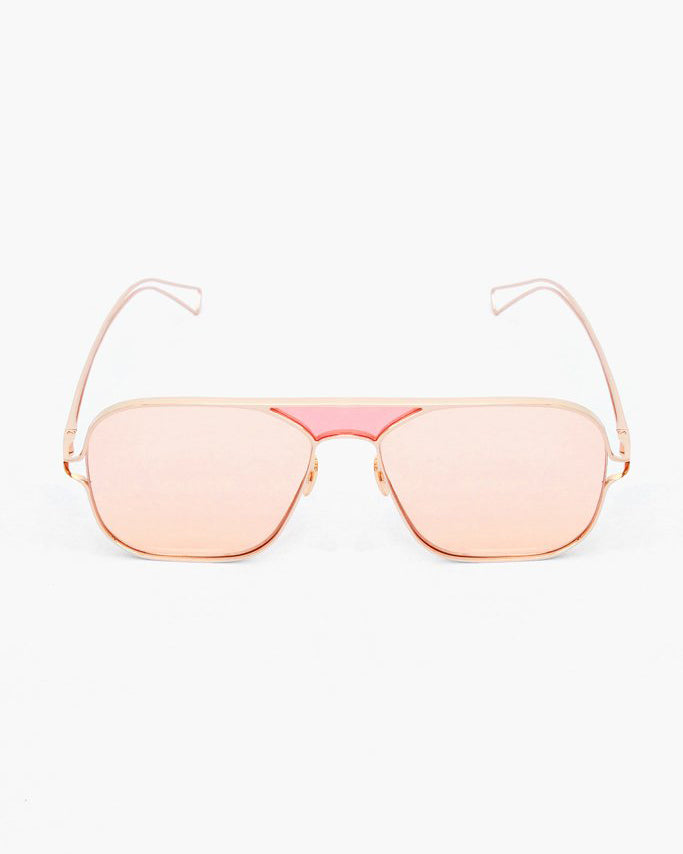 Nix Sunglasses with Pink Lenses Copper