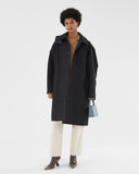 Blake Coat Bonded Cotton Black - UNISEX