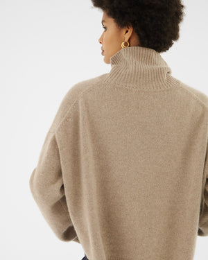 Peyton Sweater Regenerated Cashmere Beige