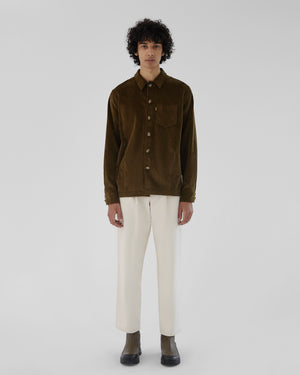 Jamie Shirt Cotton Corduroy Khaki
