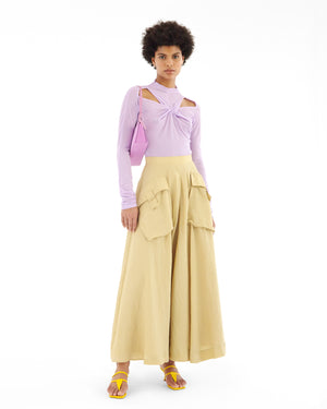 Maia Top Jersey Lilac