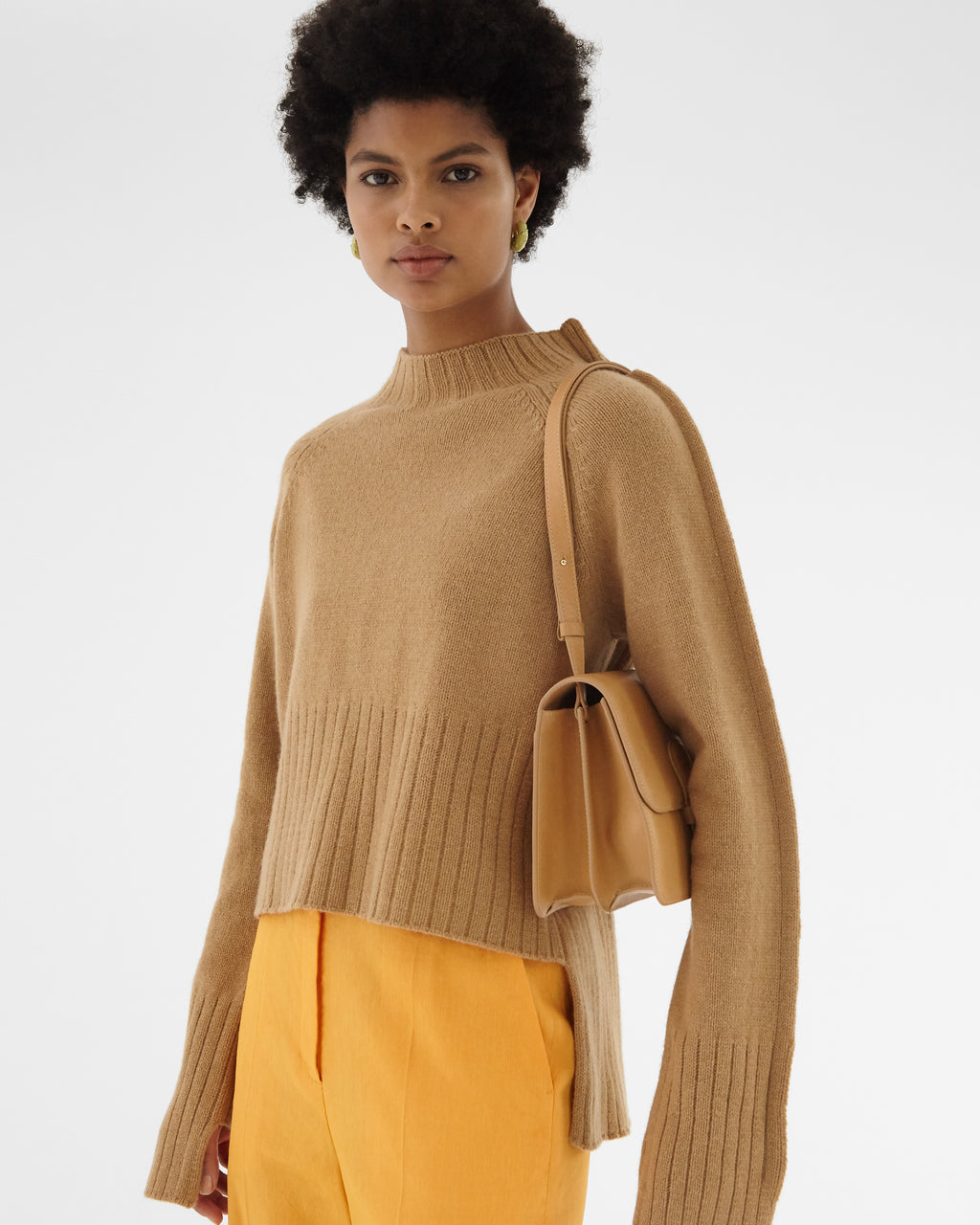 Erin Sweater Regenerated Cashmere Beige