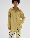 Ashley Shirt Viscose Blend Sand