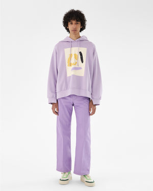 Casey Hoodie Organic French Terry Cotton Lavender