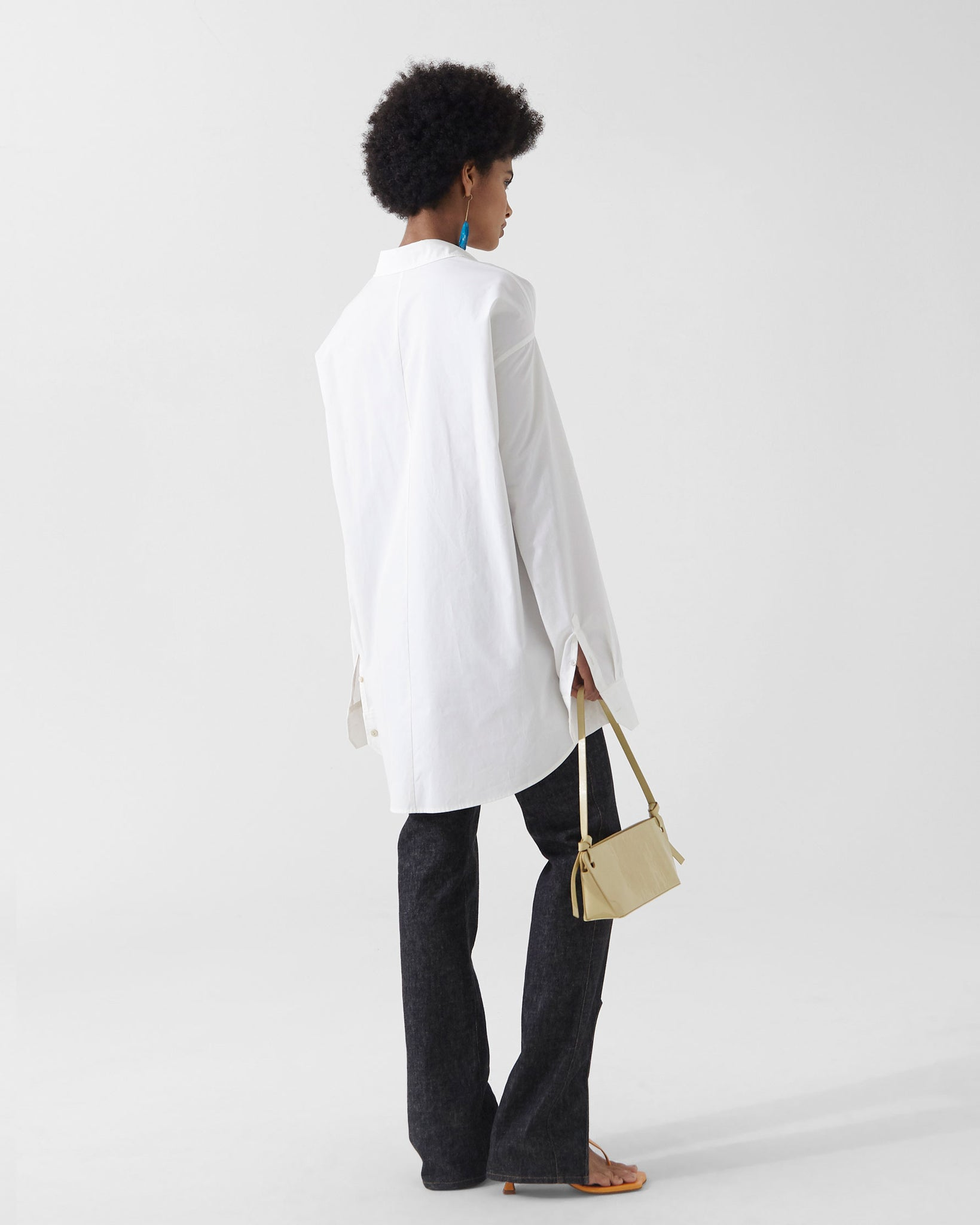 Leah Shirt Organic Cotton Off-white