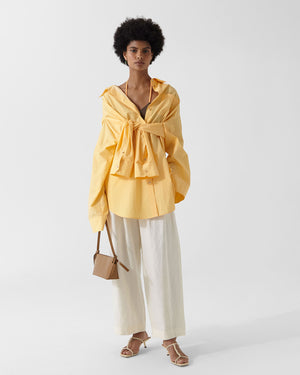 Leah Shirt Organic Cotton Yellow