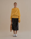 Colette Sweater Mohair Yellow