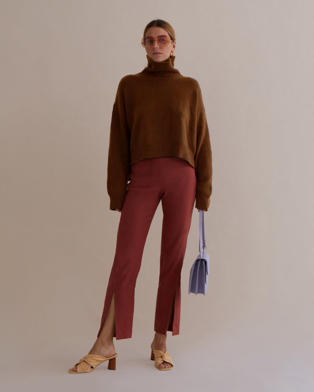 Lyn Sweater Cashmere Camel