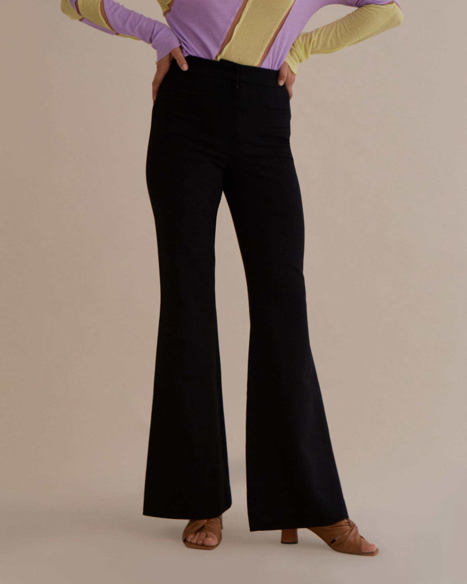 Ashley Trousers Wool Black