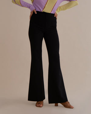 Ashley Trousers Wool Black - SPECIAL PRICE